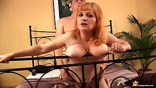 Chubby 70 years old mom wild fucked